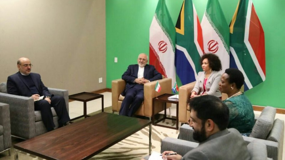 Iran, South Africa FMs discuss issues of mutual interest