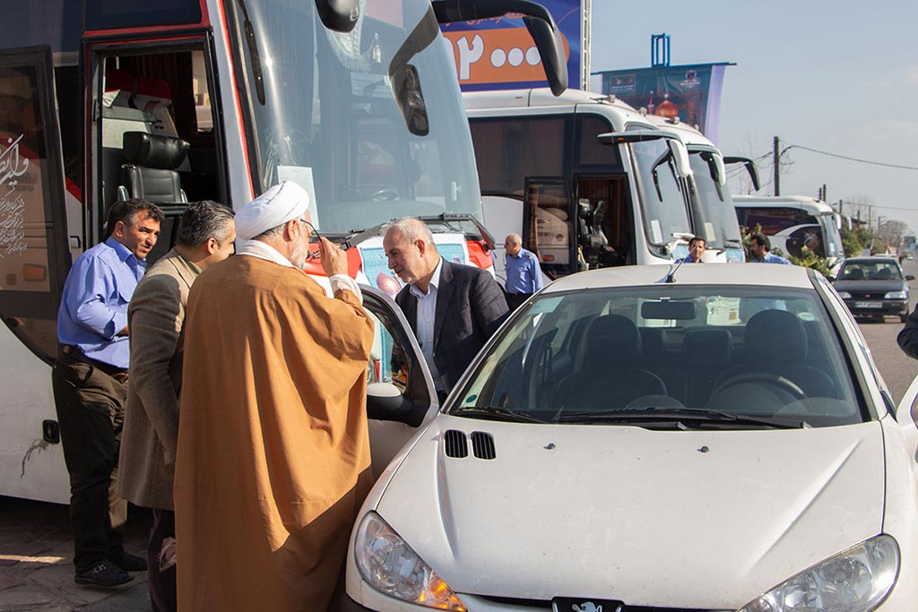 اعزام 660 زائر گیلانی به مشهد مقدس