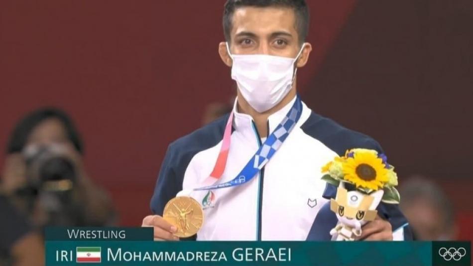 صحبتهای گرایی بعد از قهرمانی در المپیک ٢٠٢٠